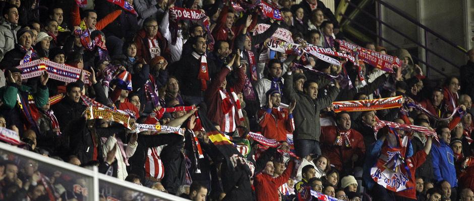 Temporada 2012-13. 2000 aficionados se desplazaron a Valladolid para animar al equipo