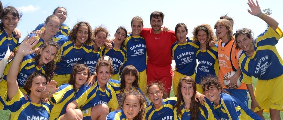 Temporada 2012-2013. Todas las participantes del I Campus de Priscila Borja