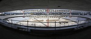 Nuevo estadio. Panorámica general del estadio