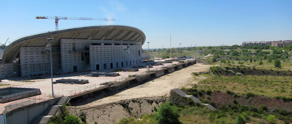 Nuevo estadio del Atlético de Madrid