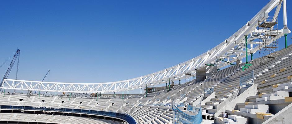 Temp. 2016/2017 | Obras Nuevo Estadio 24 de agosto 2016