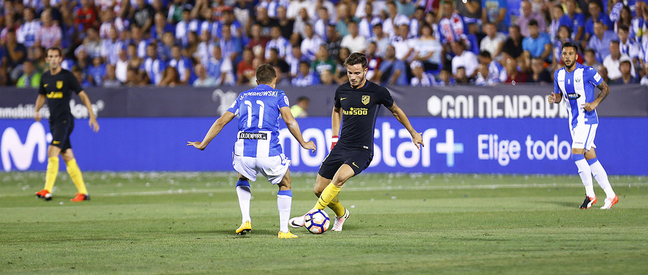 Temp. 16/17 | Leganés - Atlético de Madrid | Saúl