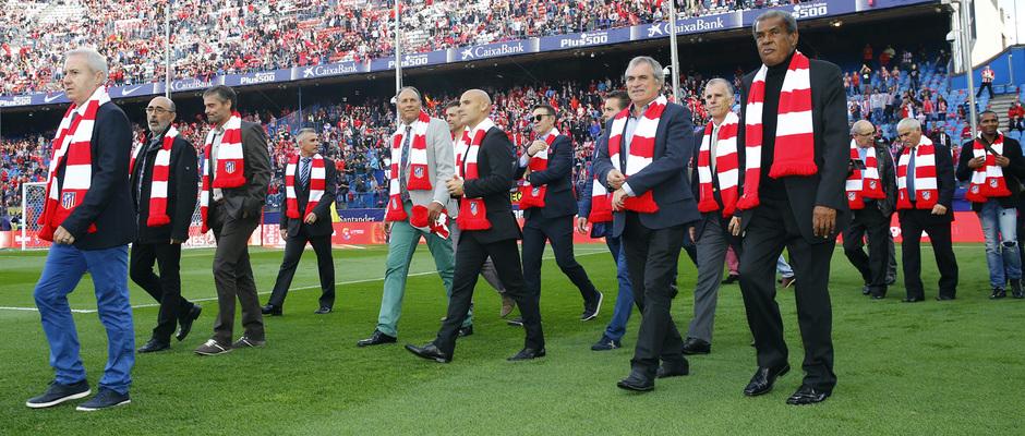 Temp. 16/17 | Atlético de Madrid - Granada | Veteranos