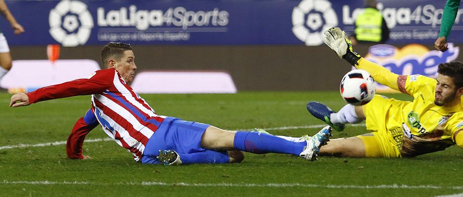 Temp. 16/17 | Atlético de Madrid - Guijuelo | Torres