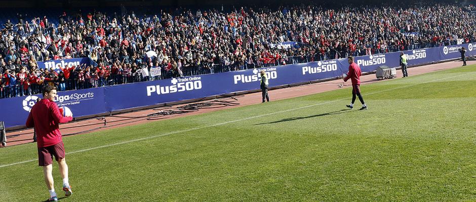 Entrenamiento puertas abiertas Calderón 4 enero 2017. Lanzamiento balones