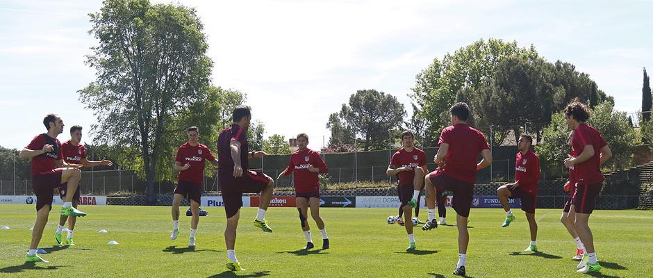 Temporada 16/17 | 07/05/2017 | Entrenamiento en la Ciudad Deportiva Wanda |