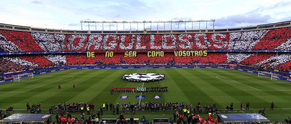 Temp. 16/17 | Atlético de Madrid - Real Madrid | Tifo