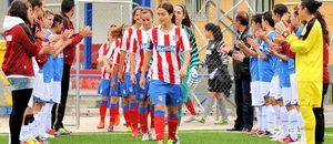Temporada 2012-2013. Pasillo al Féminas D tras ser campeón de Liga