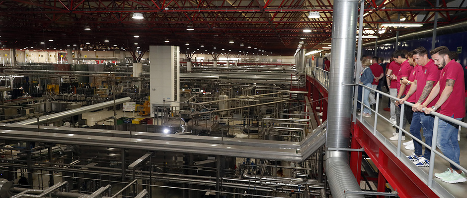 Temp. 16/17 | Visita a la fábrica de Mahou |