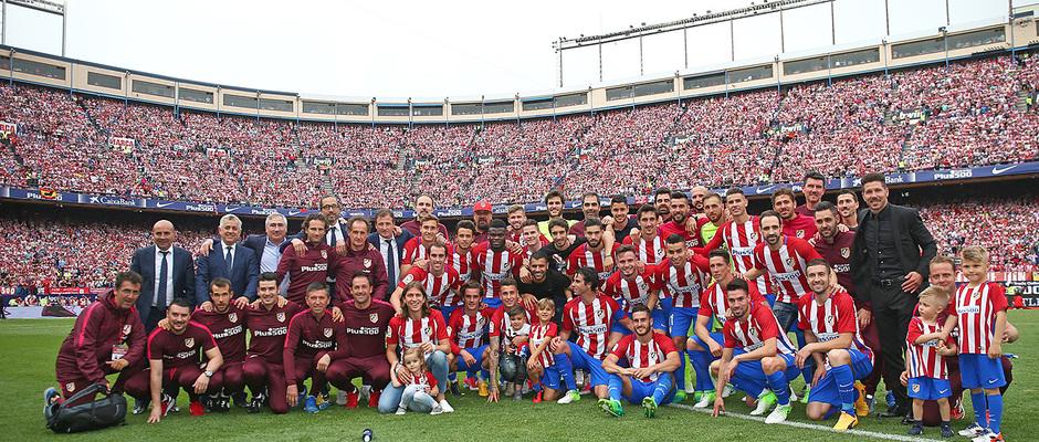 Temp. 16/17 | Homenaje Calderón | Primera plantilla