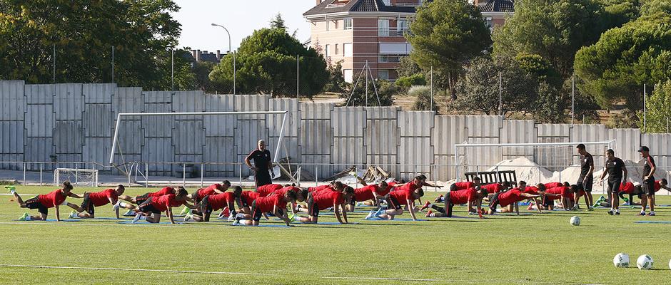 Temp. 17-18 | Primer entrenamiento de la temporada del Atlético de Madrid B