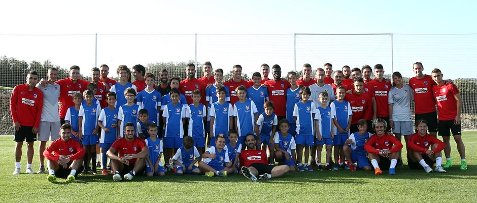 Visita de los Campus de la Fundación a Los Ángeles de San Rafael