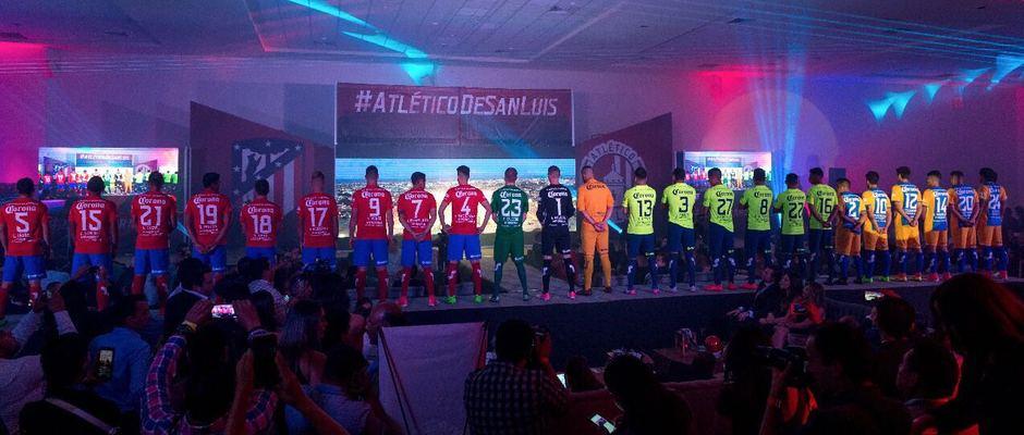 Presentación Atlético de San Luis 2017-2018.