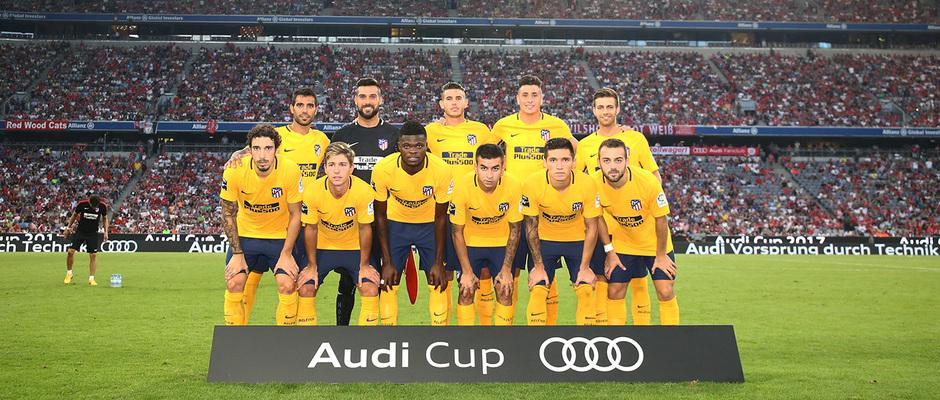 Audi Cup 2017 | Liverpool - Atlético de Madrid | Once titular