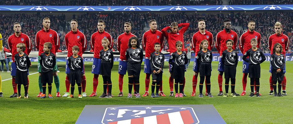 Temp. 17/18 | Atlético de Madrid - Roma | Once inicial