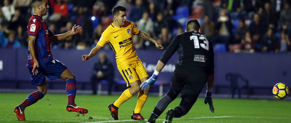 Temp. 17-18 | Levante - Atlético de Madrid | Correa