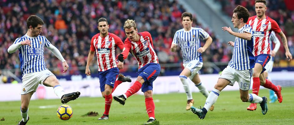 Temporada 17/18 | Atlético - Real Sociedad | Griezmann