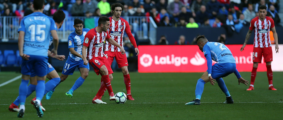 Temp. 17-18 | Málaga - Atlético de Madrid | Koke