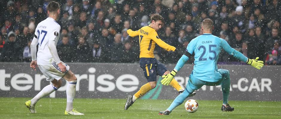 Europa League   Copenhague - Atleti - Segundo gol de Griemann