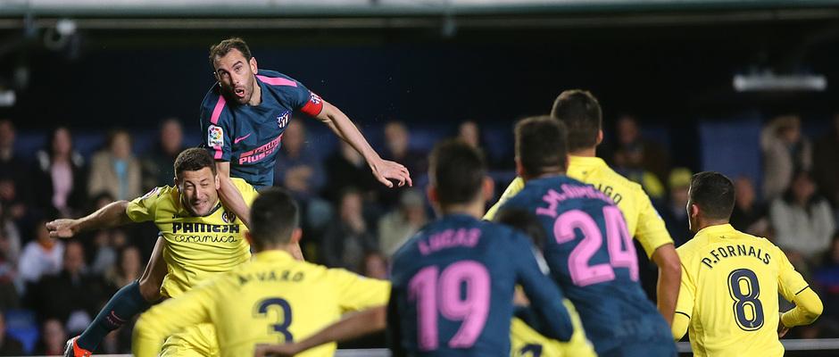 Temp. 17/18 | Jornada 29 | Villarreal - Atleti | Godín