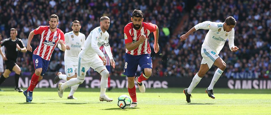 Temp. 17-18 | Real Madrid - Atlético de Madrid | 08-04-2018 | Diego Costa