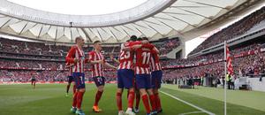 Temp 17/18 | Atlético de Madrid - Levante | Jornada 32 | 15-04-18 | Celebración