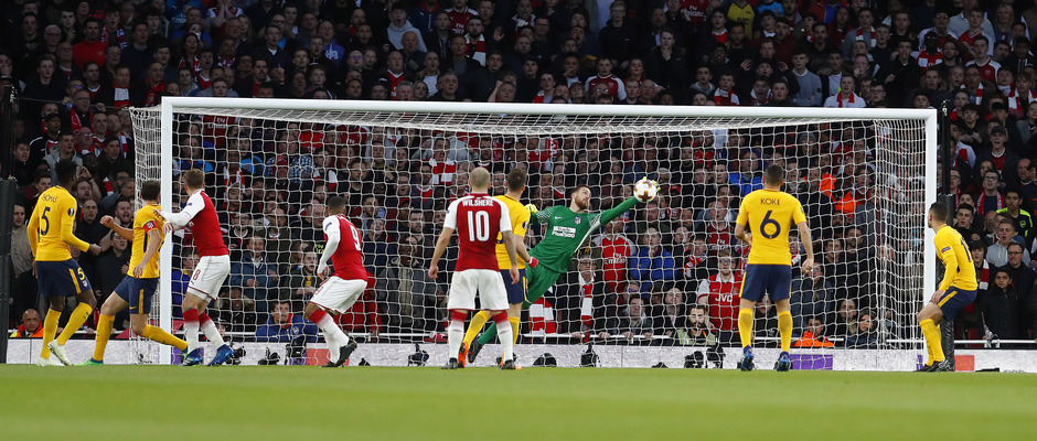 Temp. 17-18 | Arsenal - Atlético de Madrid | Ida de semifinales Europa League | Oblak