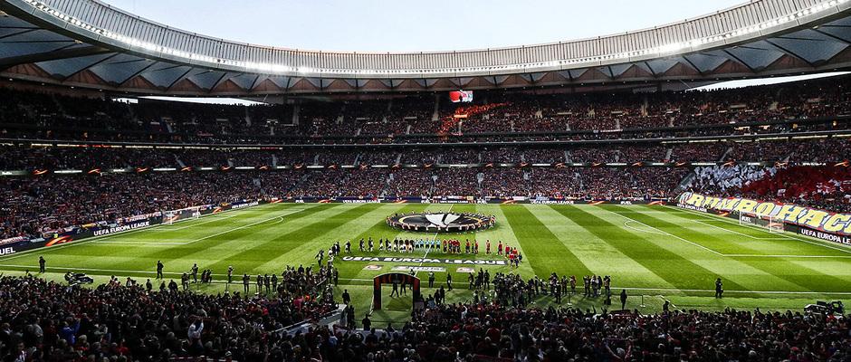 temporada 17/18. Partido Wanda Metropolitano. Atlético Arsenal. La otra mirada. Alberto