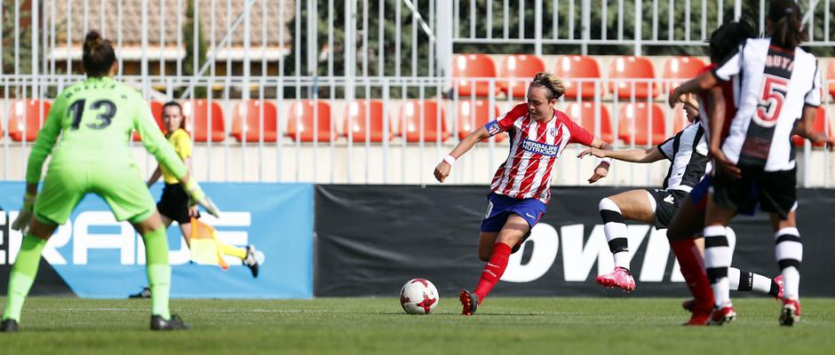 Temp 17/18 | Atlético de Madrid - Levante | Jornada 29 | Amanda Sampedro