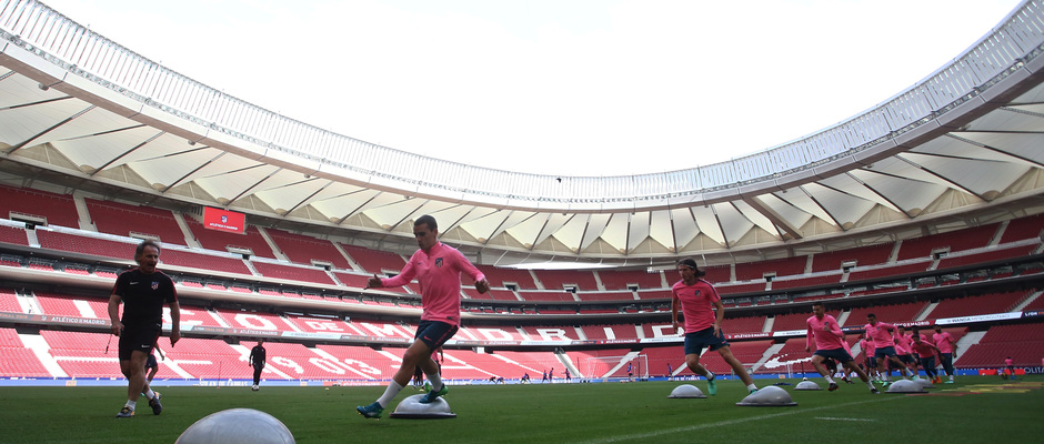 Temp 17/18 | Media Day | 09-05-18 | Wanda Metropolitano | Entrenamiento
