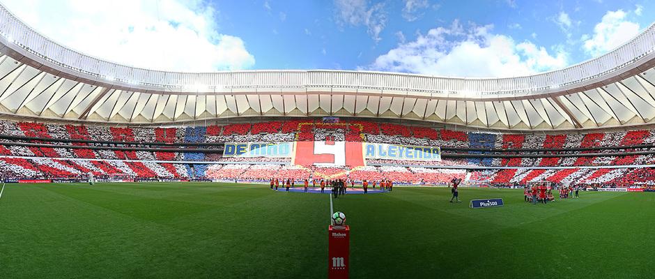 Temporada 17/18 | Panoramica partido despedida de Torres Atlético Eibar