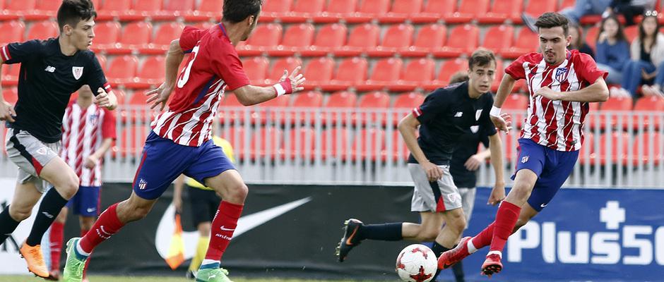 Temporada 17/18 | Copa del Rey Juvenil, semifinal | Atlético - Athletic | Joaquín Muñoz
