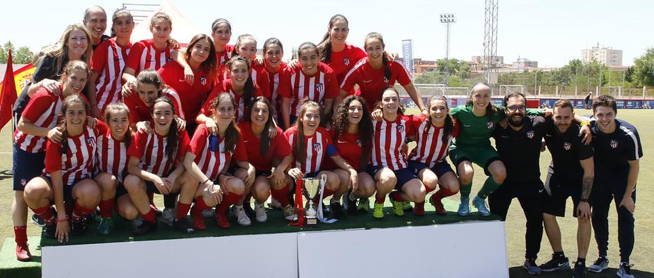 Temp 17/18 | Femenino C en la final de la Copa de Campeones frente al Torrelodones