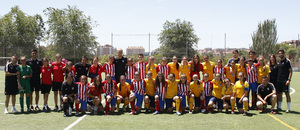 Temp 17/18 | Femenino Juvenil A contra el Femenino Juvenil B en la final de la Copa de Campeones