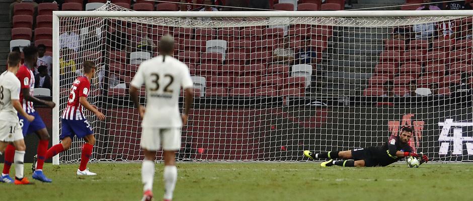 Temporada 2018-2019 | ICC Singapur | PSG - Atlético de Madrid | Grupo | Adán