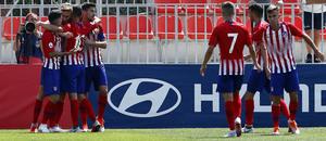 Temp. 18-19 | Atlético de Madrid B - Real Madrid Castilla | Darío Poveda | Celebración