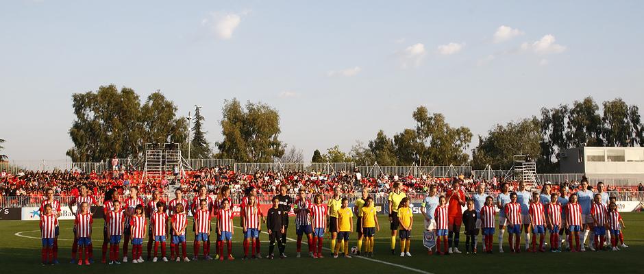 Temporada 18/19 | Atlético de Madrid Femenino - Manchester City