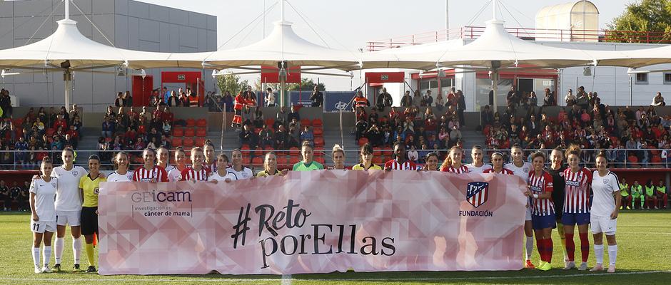Temporada 18/19 | Atlético de Madrid Femenino - Madrid CFF | Día Mundial contra el Cáncer de mama