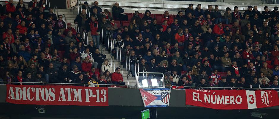 Temporada 18/19 | Atlético de Madrid - Real Sociedad | Peña Cubana