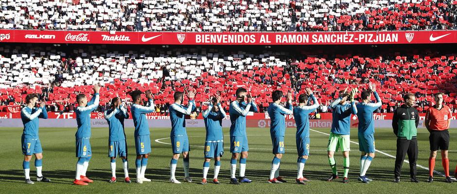 Temporada 2018-2019 | Atlético de Madrid - Sevilla | inicio partido