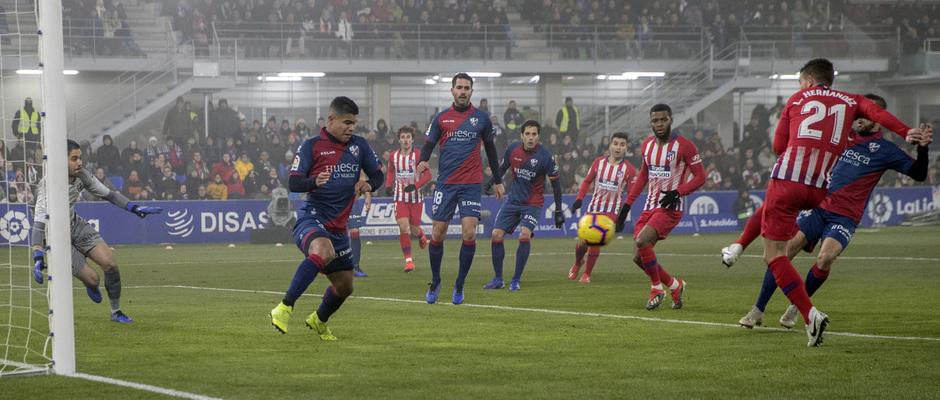 Temp. 18-19 | Huesca - Atlético de Madrid | gol Lucas Hernandez