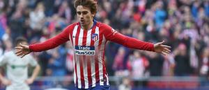 Temporada 18/19 | Atlético de Madrid - Getafe | Griezmann celebración