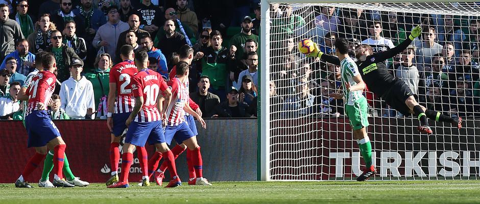 Temporada 18/19 | Real Betis - Atlético de Madrid | Oblak