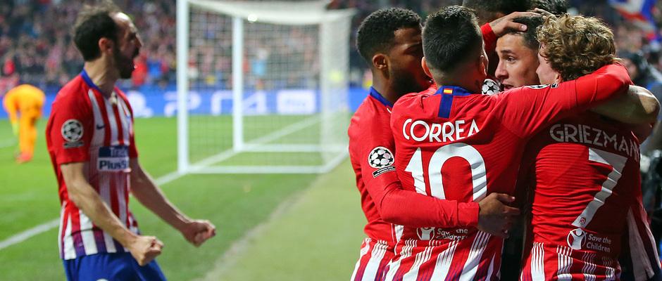 Temp. 18-19 | Atlético de Madrid - Juventus | piña