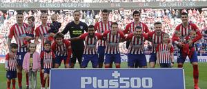 Temporada 18/19 | Atlético de Madrid - Villarreal | Once inicial