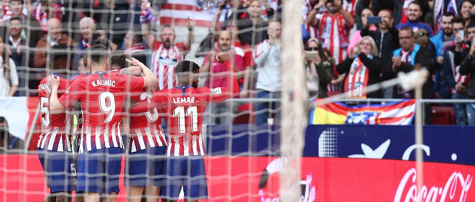 Temporada 18/19 | Atlético de Madrid - Leganés | Gol