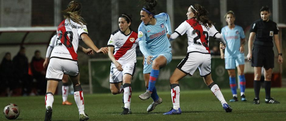 Temp. 18-19   Rayo Vallecano - Atlético de Madrid Femenino   Meseguer