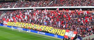 Temporada 18/19 | Atlético de Madrid Femenino - FC Barcelona | Tifo
