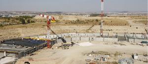 Evolución de las obras del Nuevo Estadio 4 de septiembre del 2013