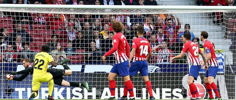 Temporada 18/19 | Atlético de Madrid - Girona | Oblak